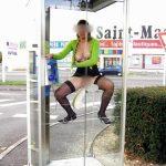 Aurianne, salope exhib lyonnaise cherche étalon pour la baiser en lieux publics