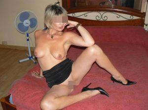 Carole, cougar blonde de Lille