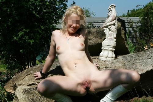 Ingrid blonde salope de Metz