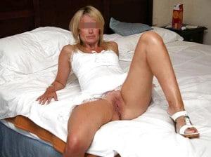 Josée cougar blonde de Grenoble