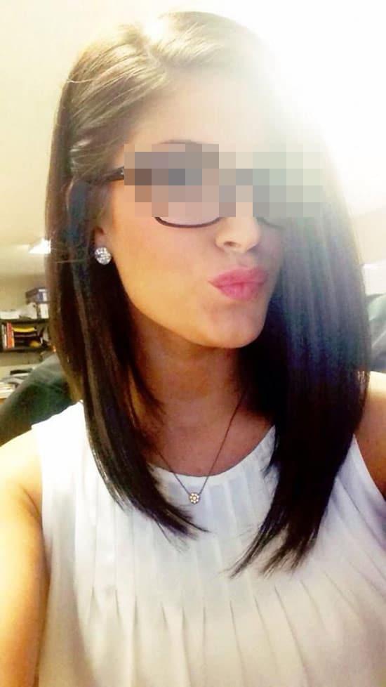 Julie, brune à lunettes de Lille