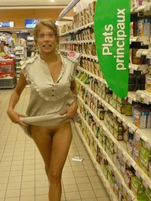 Ludivine femme exhibitionniste de Toulouse