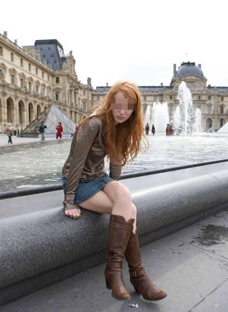 Maud rouquine de Paris