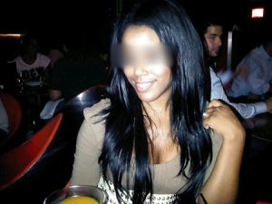 Nadiège, femme black guadeloupéenne
