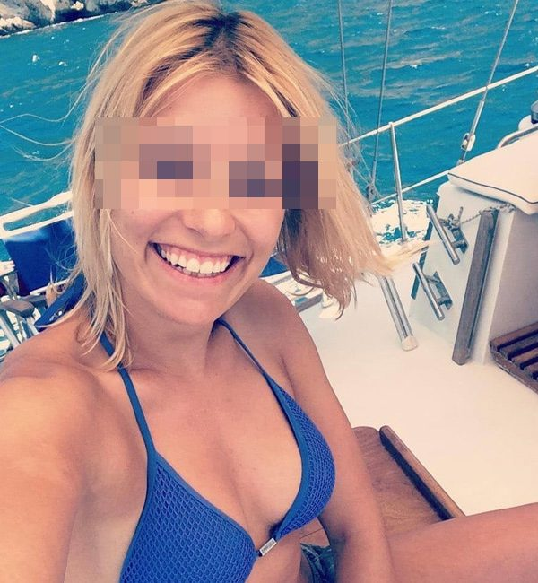 Pauline, blonde sexy, de Marseille