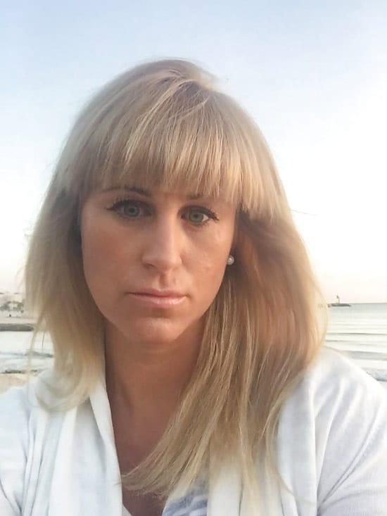 Sacha, maman blonde de Rennes